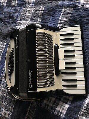 Accordion 40 Bass Silvio Morata Excellent Condition Made In Italy