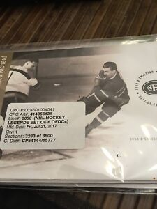 NHL Canada post issued collectables