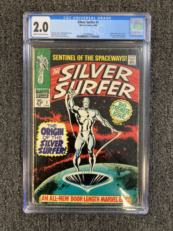 SILVER SURFER #1 CGC 2.0 - Origin of the Silver Surfer & The Watchers