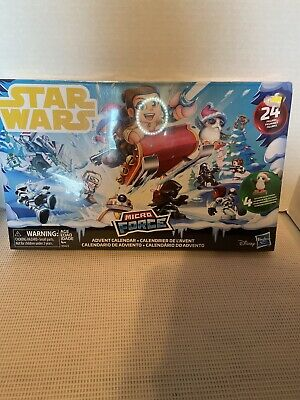 Star Wars 2018 Micro Force Advent Calendar, 24 Figures, New Sealed