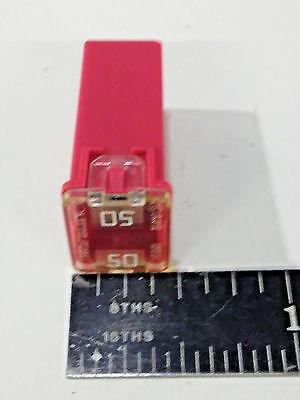 Littelfuse 50 Amp Jcase Mini Pal Cartridge Fuse Quantity 2