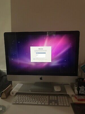 "Apple iMac 27"" Desktop - (Late, 2009) - 3.06 Core 2 Duo, 1TB HDD, 8GB RAM"