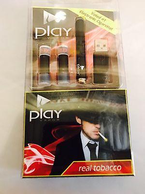 New Electronic E Pen Cigarette Starter Kit   Cartridge Black