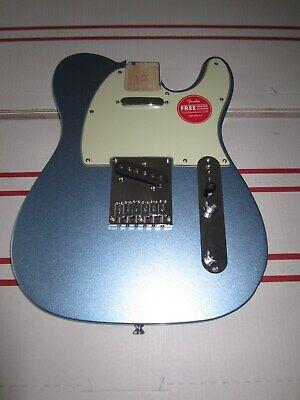 Fender Squier Telecaster FSR Body NEW. Lake Placid Blue. Mint. Never Used SWEET.