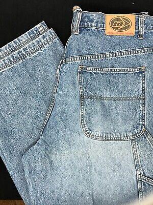 Decoy Skate Denim Blue Jeans Carpenter Painter Pants 32 x 28 Mens Baggy Pants Carpenter Denim Blue Jeans