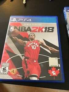NBA 2k18 in perfect condition used literally twice
