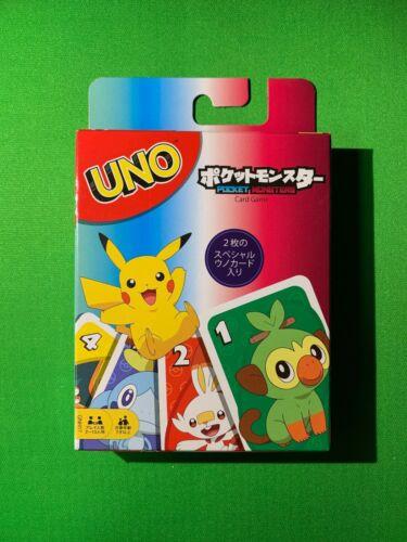 Pokemon UNO Deck Mattel Brand New Special Rule Card with Snorlax & Greninja