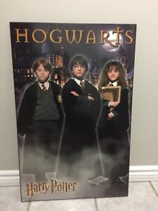 Harry Potter Hogwarts Poster Size Wood Picture