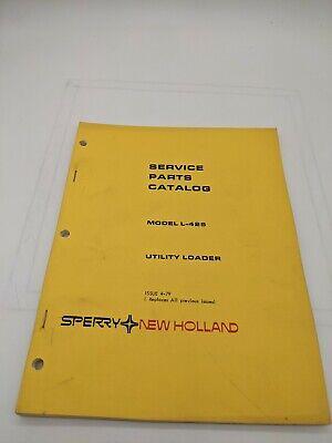 New Holland Service Parts Catalog L-425 Skid Steer Loader 4-79