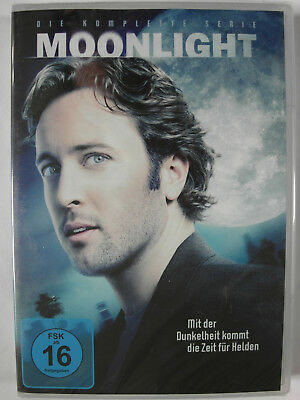 Moonlight - Die komplette Serie - Alex O'Loughlin - Vampire Romanze, Sossamon