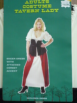Halloween Costumes Tavern Wench (Tavern Wench Bar Maid Renaissance Halloween Costume Ladies Sm Pirate)