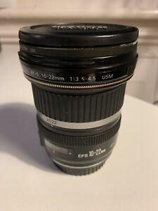 Canon EF-S 10-22mm 1:3.5 - 4.5 USM ultrasonic lens