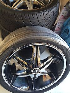 24inch DUB rim and fullway tyres.. excellent condition! Carramar Wanneroo Area Preview