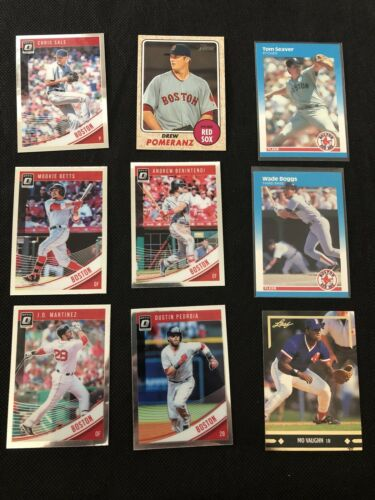 Lot Of 50 Boston Red Sox Baseball Cards - $0.99