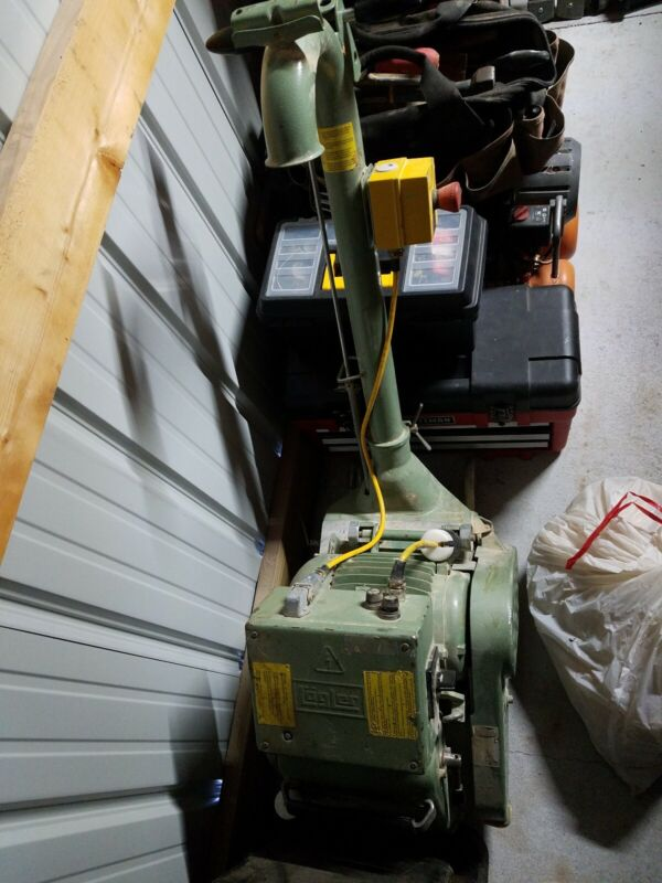 "LAGLER HUMMEL 8"" BELT FLOOR SANDER - USED, in good working condition"