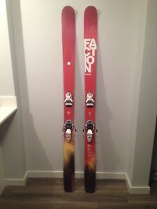 Faction ten5 186cm barely used
