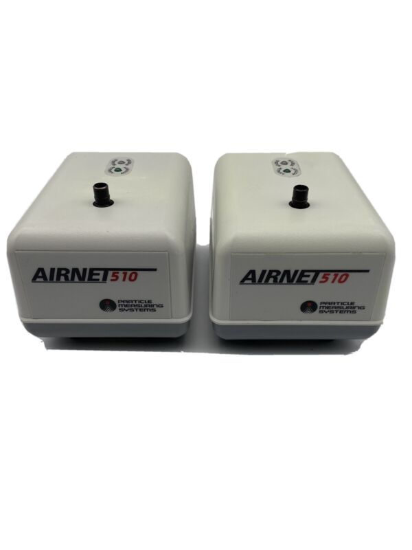 Lot of (2) Airnet 510 Particle Measuring Systems 24VDC