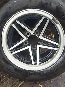 Cheviot Rebels with good tyres. 7Jx14 5x114.3 215-65-14 Galston Hornsby Area Preview