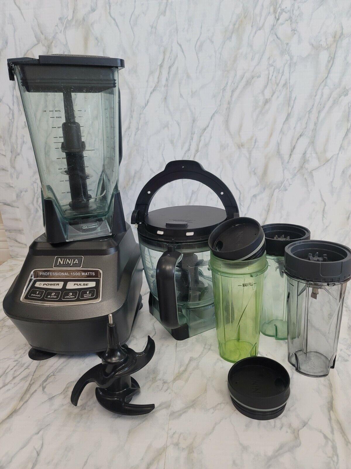 Ninja Mega Kitchen System 72 Oz. Blender Black Model BL770