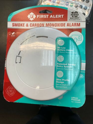 First Alert Smoke & Carbon Monoxide alarm 10-year battery sl