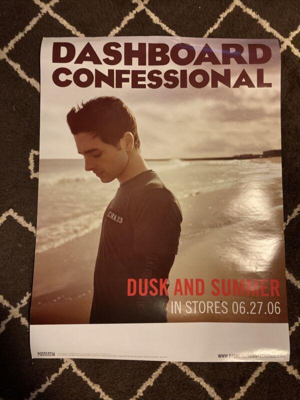 Dashboard Confessionals Promo Poster