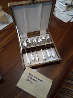 Silver Tea Spoons