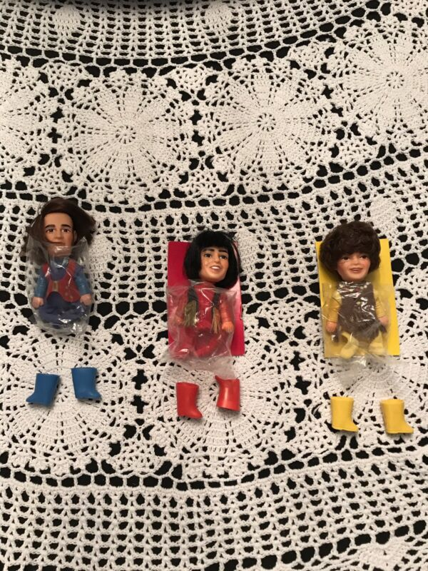 Vintage The Monkees Finger Puppets