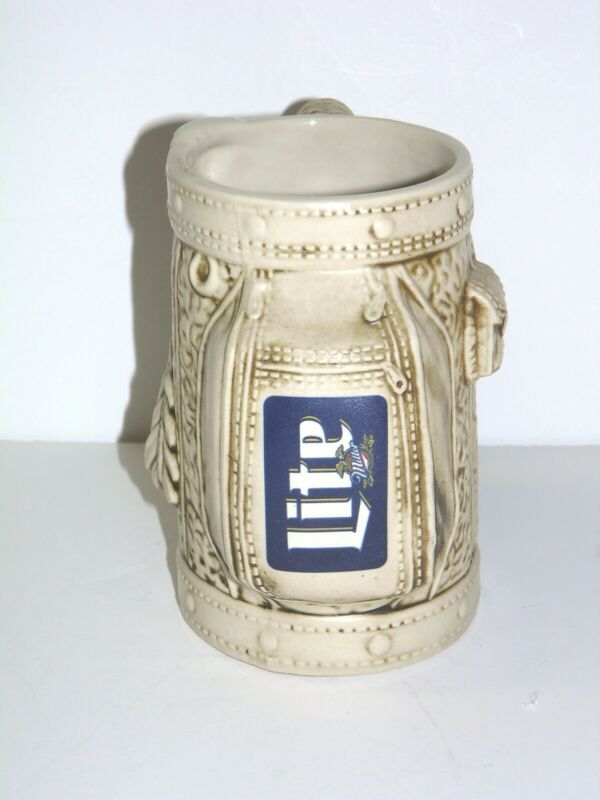 Miller Lite Sports Bag Beer Stein