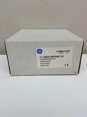 Ge Versamax Expansion Isolated Receiver Ic200erm001. New Surplus