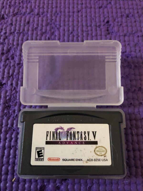 Final Fantasy V Advance Authentic Tested (Nintendo Game Boy Advance, 2006)