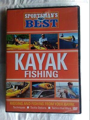 SPORTSMANS BEST: KAYAK FISHING DVD- Rigging & Fishing from your Kayak~