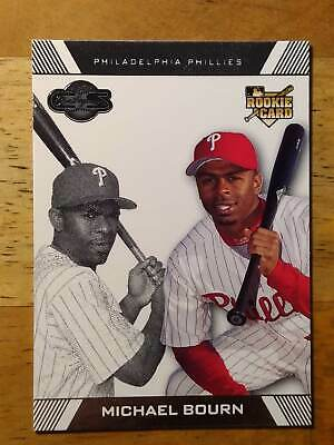 2007 Topps Co-Signers #98a Michael Bourn (RC
