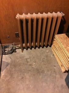 Hot water radiators