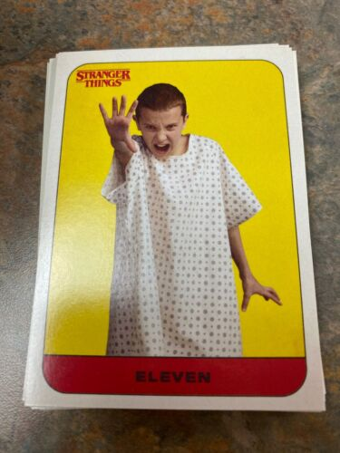 2018 Topps Stranger Things Trading Cards - Character Stickers - !!U PICK!!