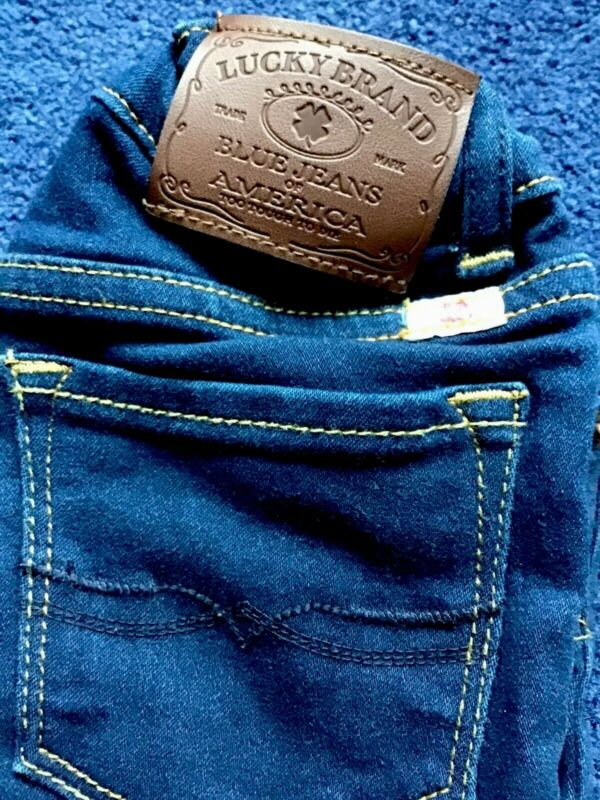 Lucky Brand Jeans Girls Sz 6 With Adjustable Waist