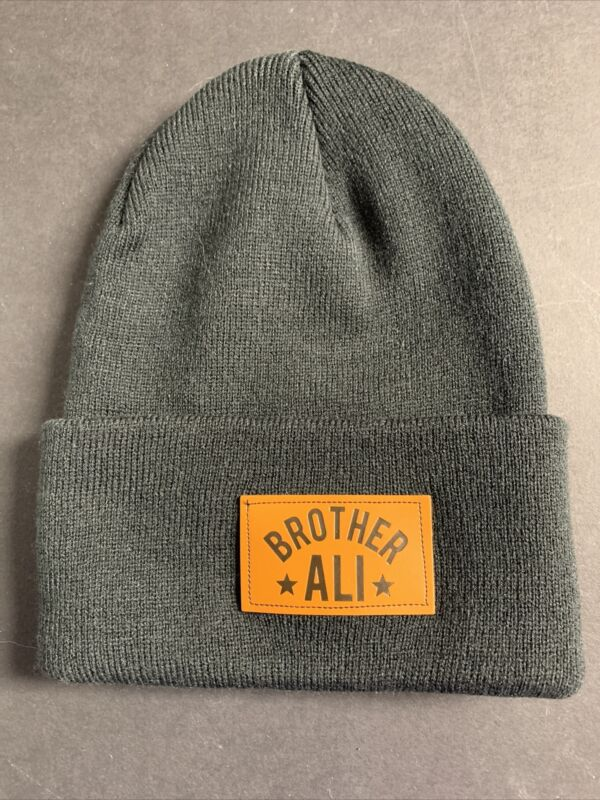 * Brother Ali * KNIT Beanie cap - Rhymesayers / Minneapolis Hip-hop hat