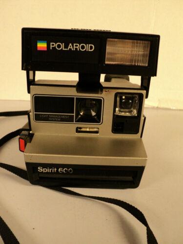 Polaroid Spirit 600 Instant Photo Land Camera Untested