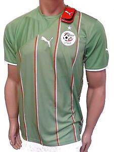 Puma-Camiseta-De-Argelia-verde-2010-2011-Talla-S-nuevo-EMB-ORIG