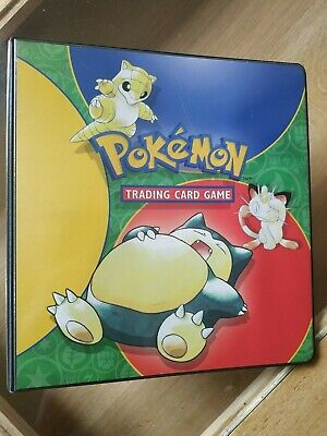 Classeur , binder pokemon officiel set de base , original carte pokemon tcg
