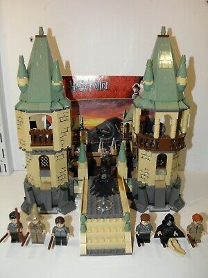 Harry Potter LEGO set #4867: Hogwarts Complete with Instructions! 7 Mini-figures