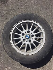 BMW Summer Tire and Wheel Package
