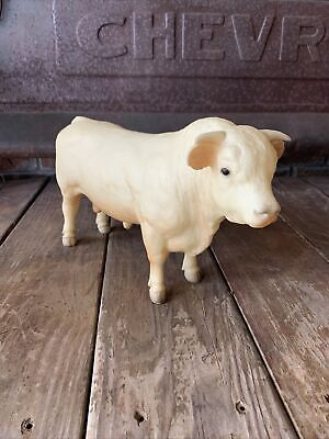BREYER WHITE BULL NOT IN A BOX IN GOOD CONDITION