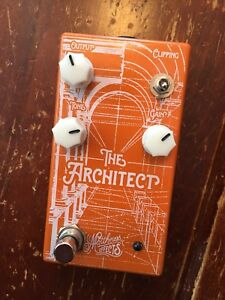 "Matthews Effects ""The Architect"" Overdrive guitar pedal"