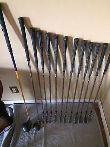 Full set of used clubs!
