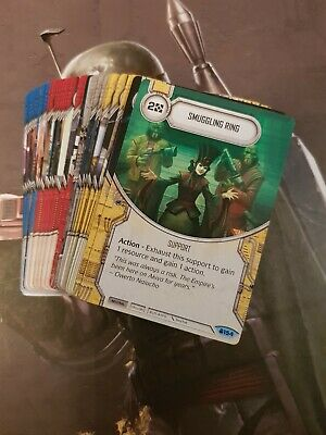 Star Wars Destiny Convergence Common Set 57 Cards