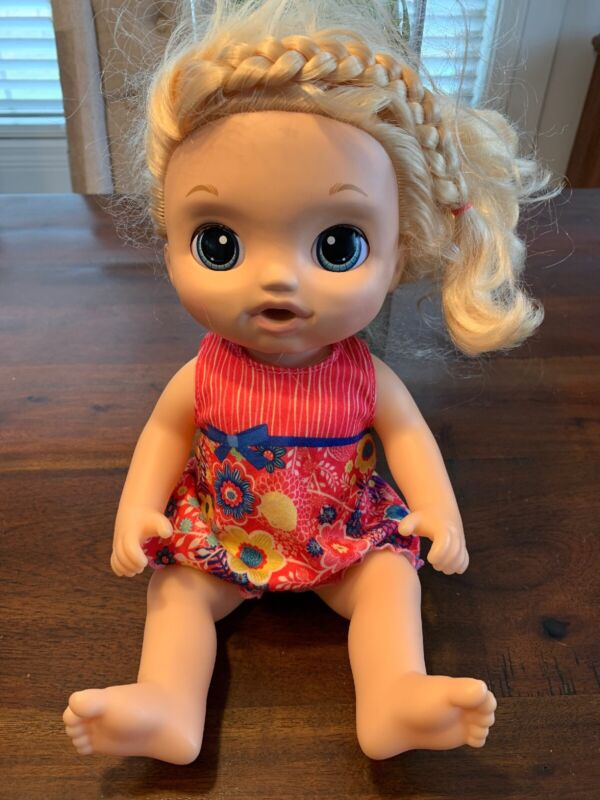 Baby Alive Sweet Tears Interactive Doll Sick Cries Blinks Face Moves Hasbro 2016
