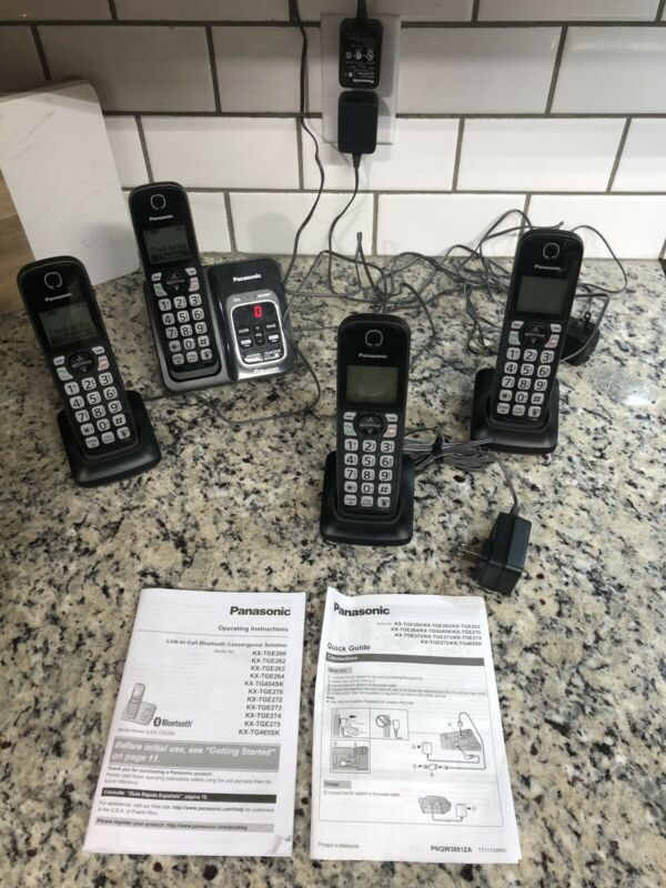 Panasonic KX-TGD560 Link2Cell Bluetooth Phone With 3 Additional Phones