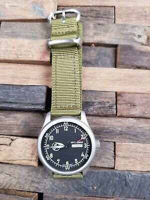 Minuteman A11 American Field Watch Black Dial Powered by Ameriquartz