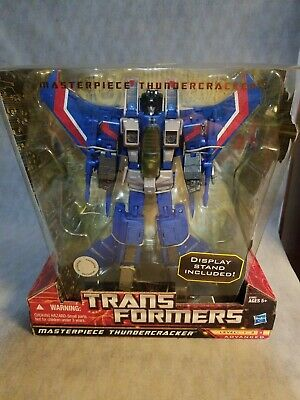 Hasbro Transformers Masterpiece, Masterpiece Thundercracker Toys R Us Exclusive…