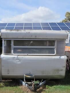 Vintage Retro Caravan For Refurbishment Gutted Interior Farm Ipswich Ipswich City Preview